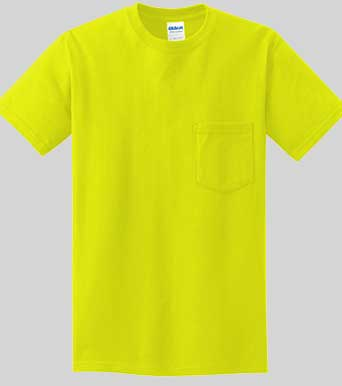 Gildan Pocket Safety Shirt